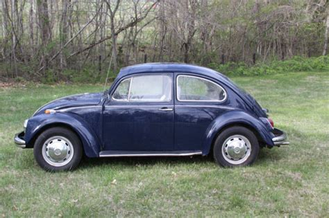 blue volkswagen beetle for sale 1968 blue volkswagen beetle bug vw for sale photos