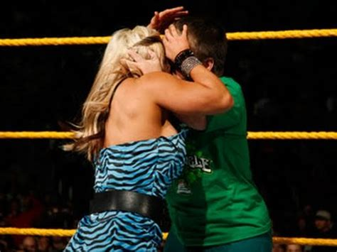 nxt rookie diva challenge kissing contest, part one
