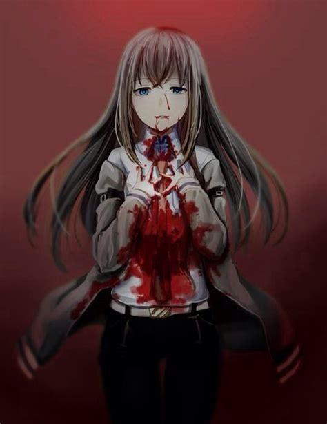 anime horror creepy anime anime blood bloody creepy horror scary
