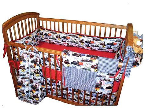 train crib bedding classic trains four piece crib set