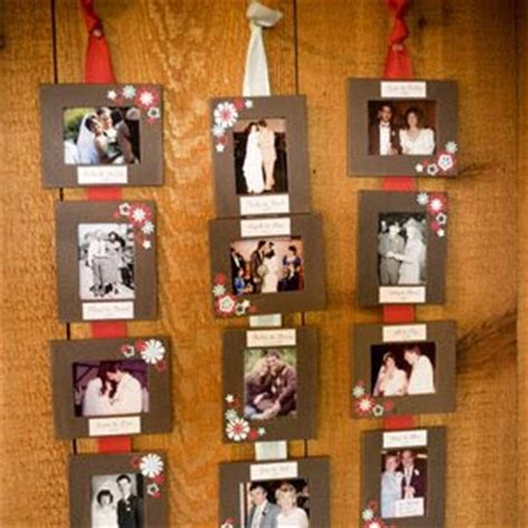 displaying pictures without frames all things beautiful wedding reception 13 easy ways