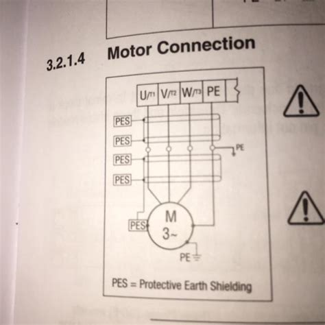 wiring   wire  phase motor  vfd electrical engineering stack exchange