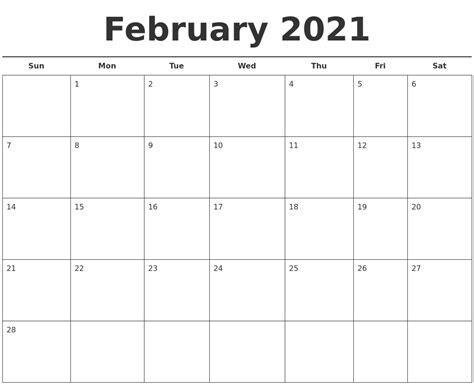 June 2021 Print A Calendar