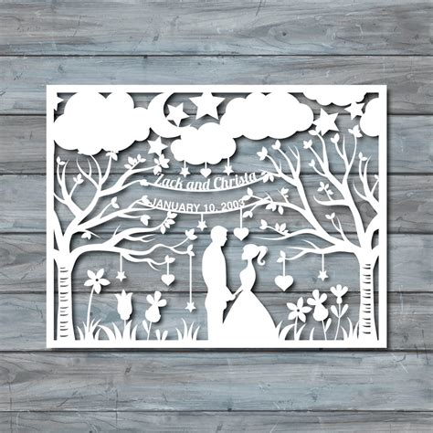 paper cutting templates wedding paper cut template paper cut templates pdf by