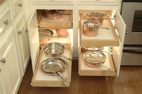Kitchen Cabinet Upgrade Kitchen Cabinets Upgrade To Glide Outs Traditional Kitchen Detroit By Shelfgenie National