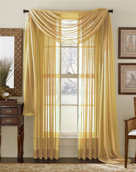 Gold Sheer Curtains Gold Sheer Curtain Scarf Apartment Decor Pinterest