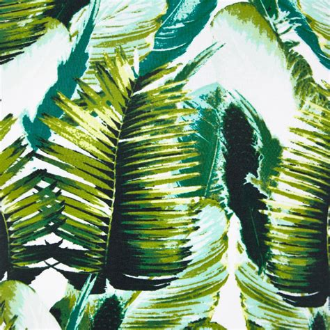 Tropical Top river island green tropical palm print crop top in white