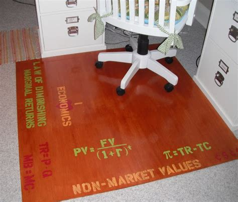 Diy Chair Mat by The Lovely Residence Chair Mat Misc