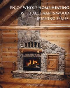 using a wood fireplace to heat your home whole home