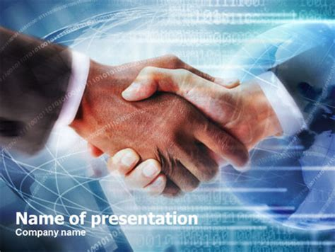 business partnership power point templates business
