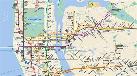 metro map nyc subway map mta my
