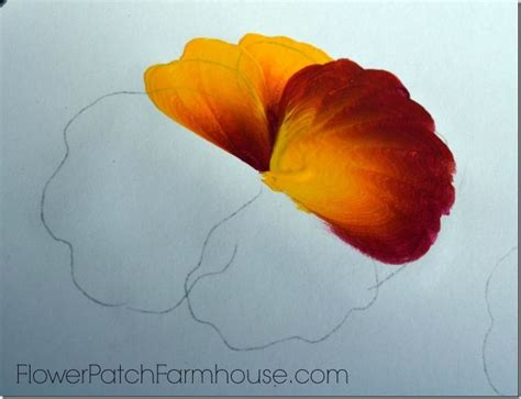 learn about one at a learn to paint a pansy one stroke at a time pansies