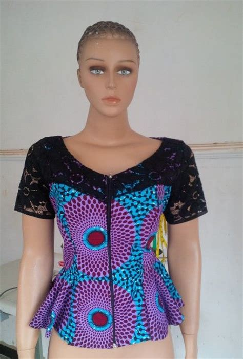 ankara peplum tops styles ankara peplum top from blesseddivas couture latest