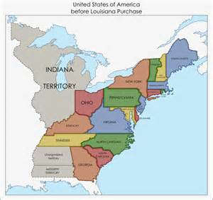 united states before louisiana purchase by fenn o manic on