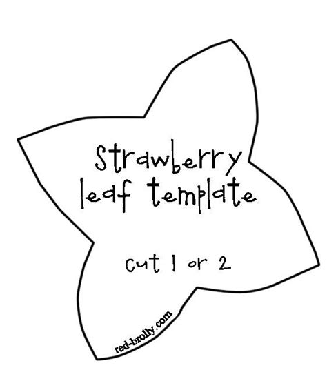 strawberry template the world s catalog of ideas