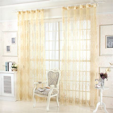 golden yellow curtains high quality product three dimensional golden yellow voile