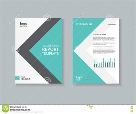 company profile book design template business cover design template stock vector illustration
