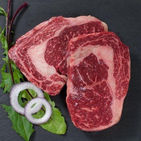 wagyu marble grade 12 gourmet food discount wagyu beef rib eye steaks marble