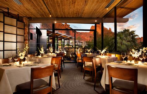 In Room Dining Scottsdale Bars And Restaurants In Scottsdale Arizona Sanctuary