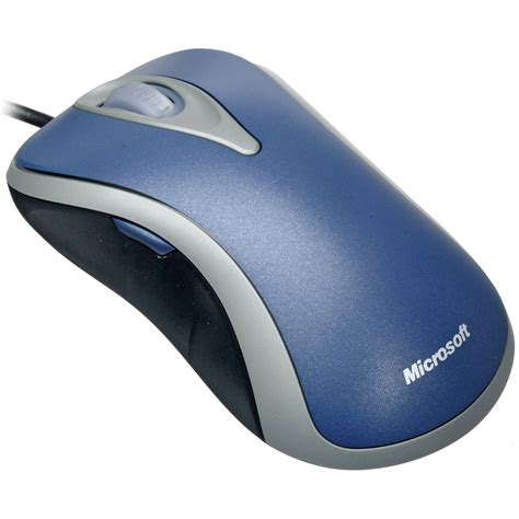 Comfort Mouse 3000 by Microsoft Comfort Optical Mouse 3000 Silver Blue D1t 00011