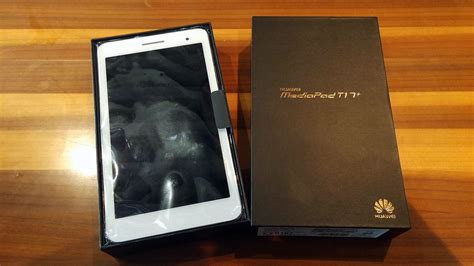 Huawei Mediapad T1 7 0plus 2 16gb huawei mediapad t1 7 0 plus phablet unboxing and on