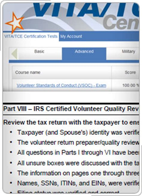 irs courseware link & learn taxes