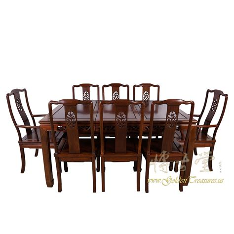 Antique Rosewood Dining Table Antique Rosewood Dining Table W 8 Chairs Set 17lp38 Antiques