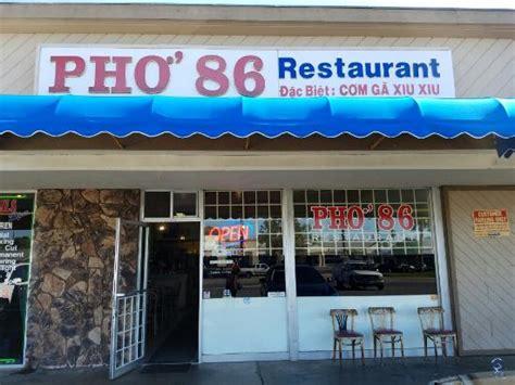 Restaurants In Garden Grove Ca Pho 86 Restaurant Garden Grove 10528 Mcfadden Ave