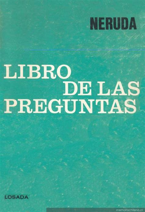 libro las verdades ocultas de el libro de las preguntas memoria chilena biblioteca nacional de chile