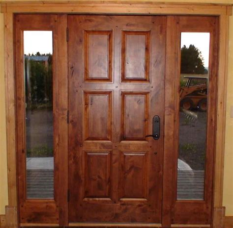 Solid Oak Exterior Doors Solid Wood Front Doors For Homes Kapan Date