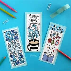 Home Design Free Ebook winter bookmarks coloring page dawn nicole designs 174