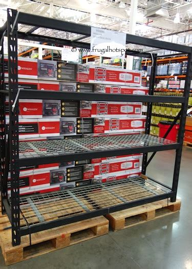 Costco Storage Racks Whalen by Costco Sale Whalen Industrial Rack 129 99 Frugal Hotspot