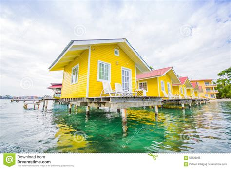 amazing caribbean house plans 6 caribbean house plans caribbean house water stock photo image 58526065