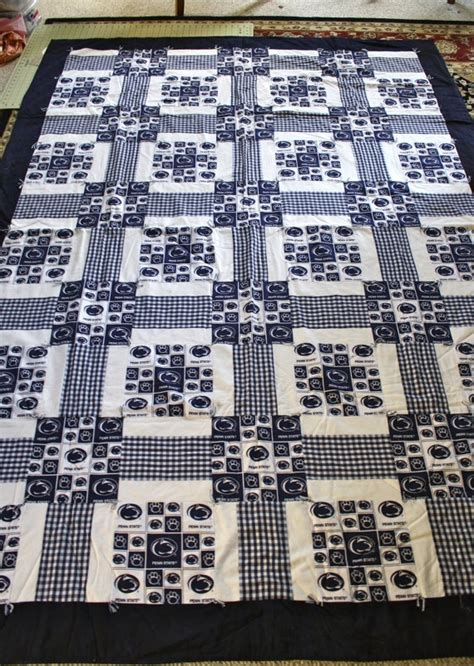 State Quilts by Penn State Quilt Size By Sewhappy247 On Etsy 175 00