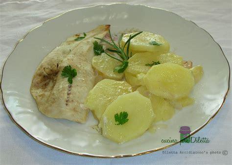 cucinare merluzzo surgelato filetti di merluzzo con patate ricetta cucina prediletta