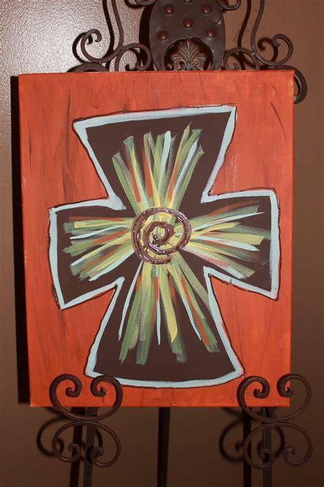 imagenes cruces en canvas mejores 70 im 225 genes de paint en pinterest cruces de
