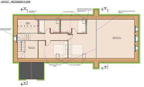 mezzanine floor plan house the church house holbeach lincolnshire