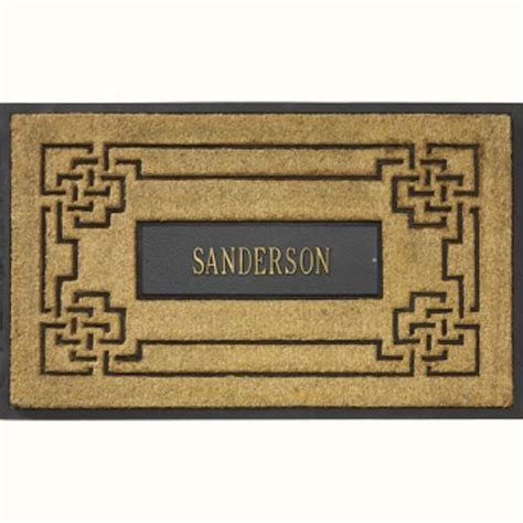 Personalized Doormats Company by Coir Rubber Doormats From The Personalized Doormats Company