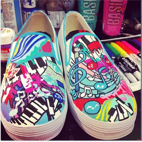 shoe paint painted shoes needed