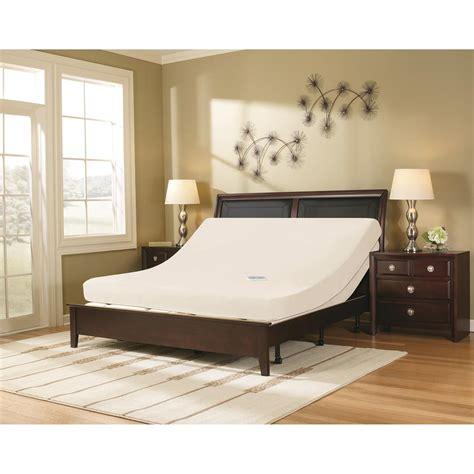 tranquil sleep massaging adjustable base queen