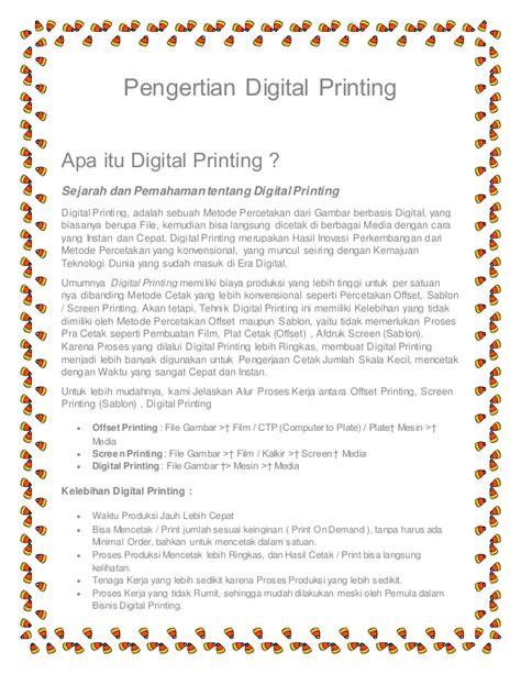 Apa Itu Print Layout | apa itu digital printing