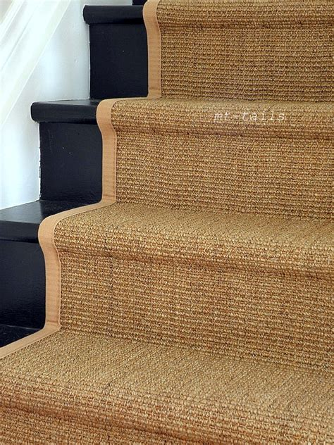 hometalk a sisal stair runner