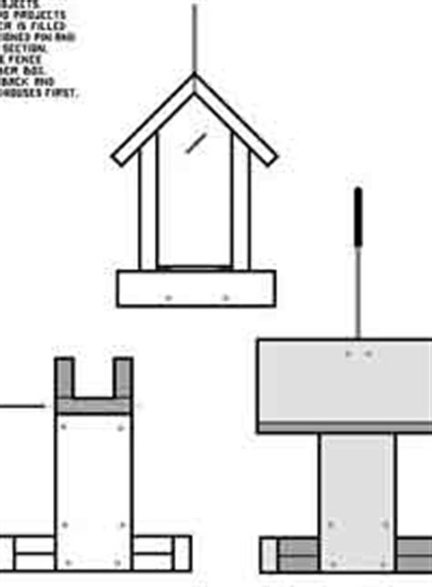 over 50 free bird house and bird feeder woodcraft plans at