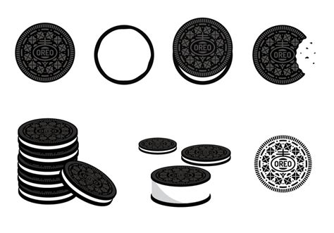 oreo pattern vector free oreo vector download free vector art stock