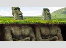 Easter Island Head Underneath Pictures to Pin on Pinterest ... Easter Island Heads Have Bodies Snopes