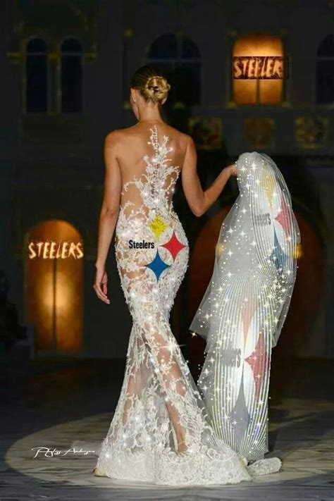 Wedding Dresses Pittsburgh by Pittsburgh Steelers S Wedding Dress