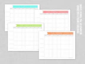 The tomkat studio blog free printable weekly family calendar