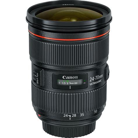 canon ef 24 70mm f 2 8l ii usm lens 5175b002 b h photo