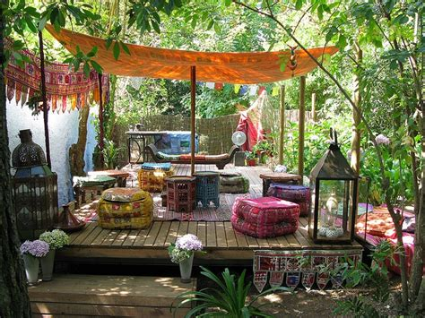 boho rustic patio pictures daily backyard home garden project inspiration (11)