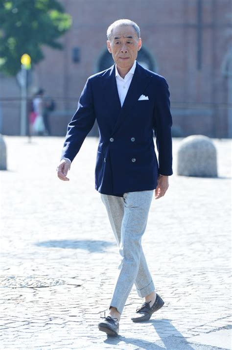 boat shoes and dress pants pitti uomo florence style has no age limit pinterest
